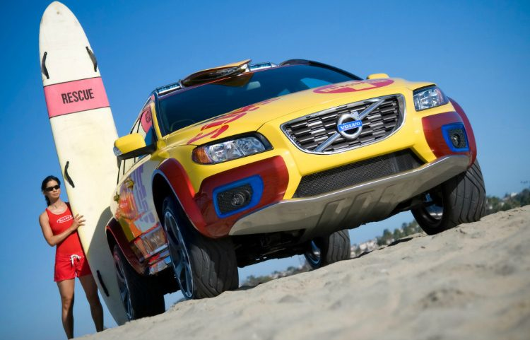 Volvo XC70 Surf Rescue
