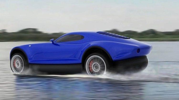 Wordt dit de allereerst hovercraft-sportauto?
