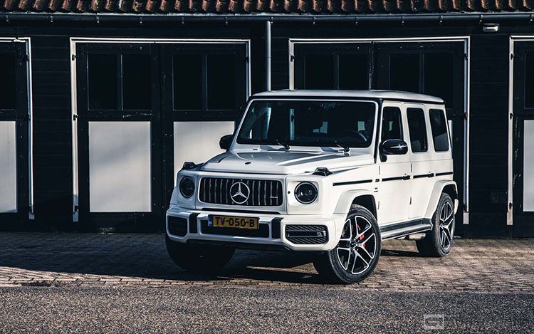 Mercedes AMG G 63 rijtest en video