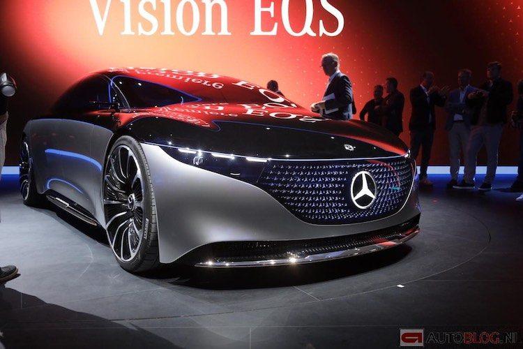 Mercedes EQS is voorproefje op elektrische S-klasse