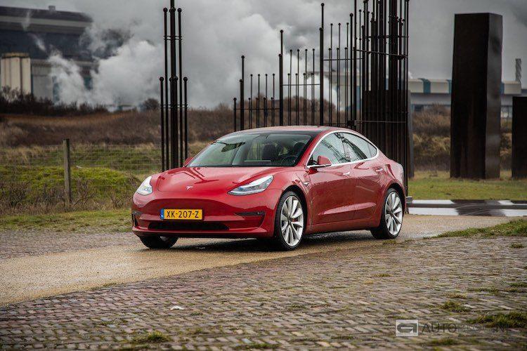 10.000x Tesla Model 3 op Nederlands kenteken