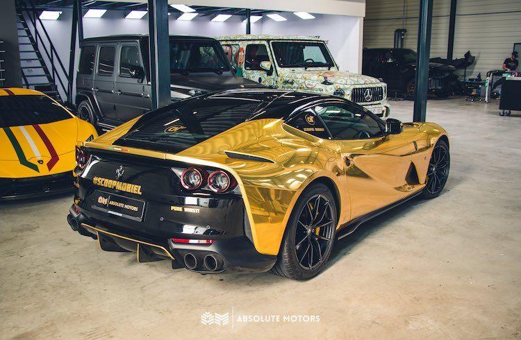 Gallery: Ferrari 812 Superfast voor Joel Beukers