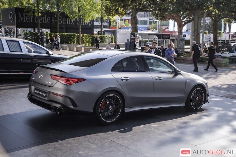 AMG CLA 45 S is bloedsnelle compacte sedan