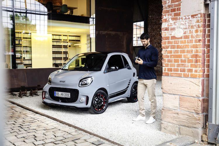Facelift voor elektrische Smart ForTwo en ForFour