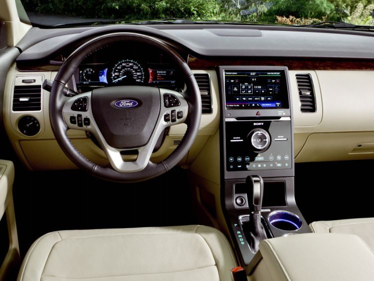 Ford Flex interieur