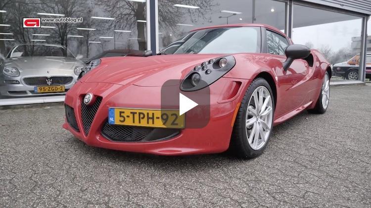 Mijn auto: Alfa Romeo 4C van André