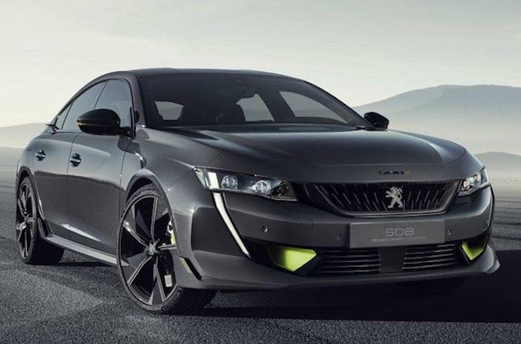 Peugeot onthult 508 met 400 pk
