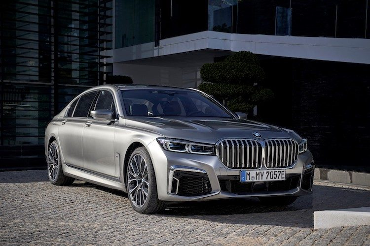 BMW 7 Serie 2019 (745e): rijtest en video