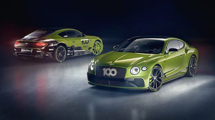 Bentley Conti GT Pikes Peak is een dik feestnummer