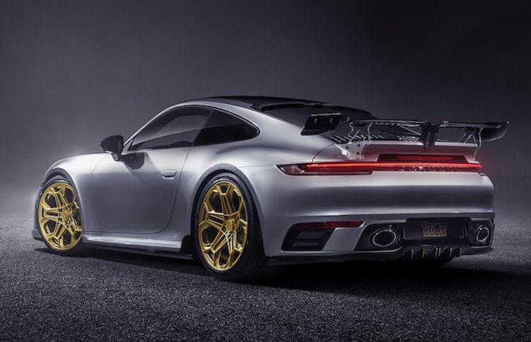TECHART geeft voorproefje op de Porsche 992 GT3