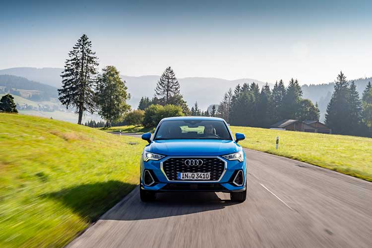 Audi Q3 Sportback 2019 rijtest en video