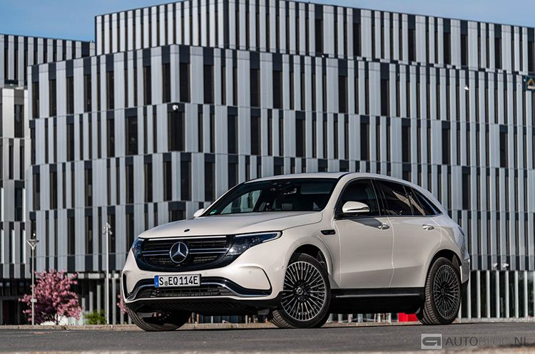 Mercedes Benz EQC 400 4MATIC rijtest en video
