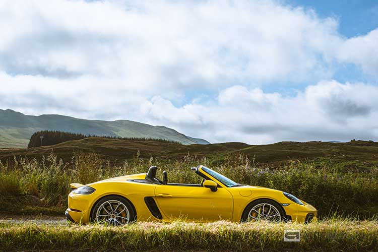 Porsche 718 Spyder rijtest en video