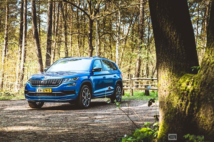 Skoda Kodiaq RS rijtest en video
