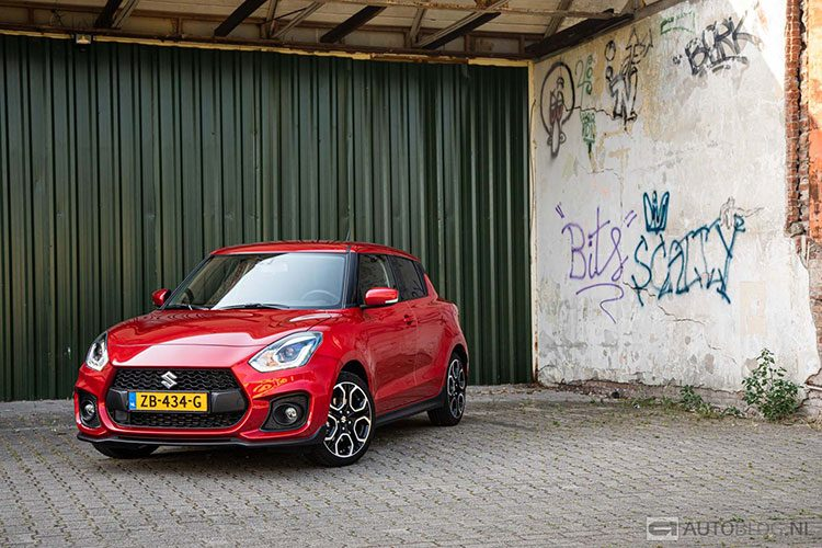 Autoblog Garage Suzuki Swift 2019 duurtest