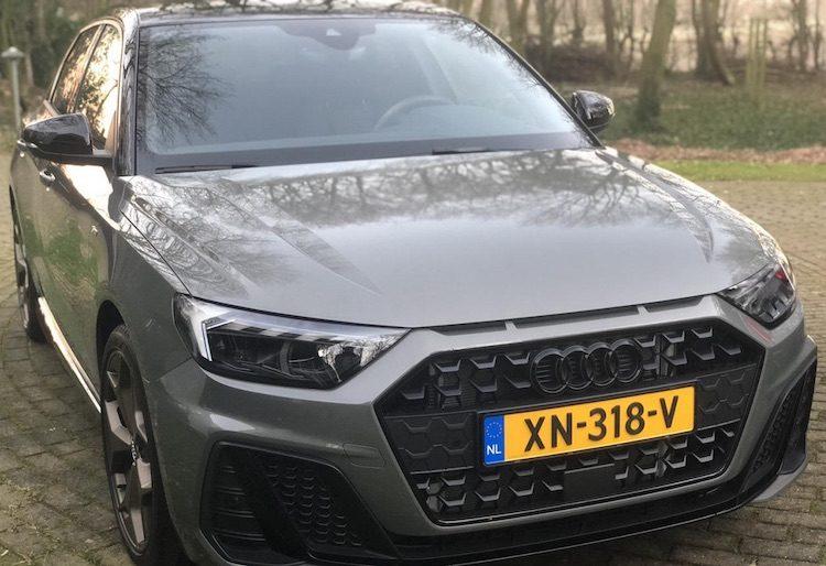 De nieuwe Audi A1 Sportback van een AB-lezer