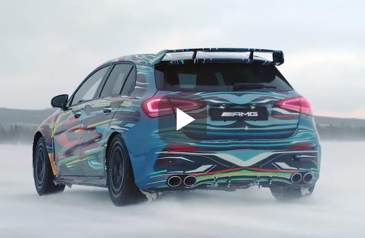 Video: dit is de nieuwe Mercedes-AMG A 45