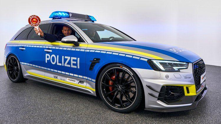 ABT Audi RS4-R Avant Polizei (B9) '19