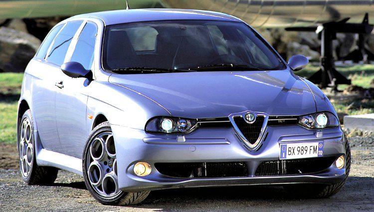 Alfa Romeo 156 Sportwagon GTA (932B) '03