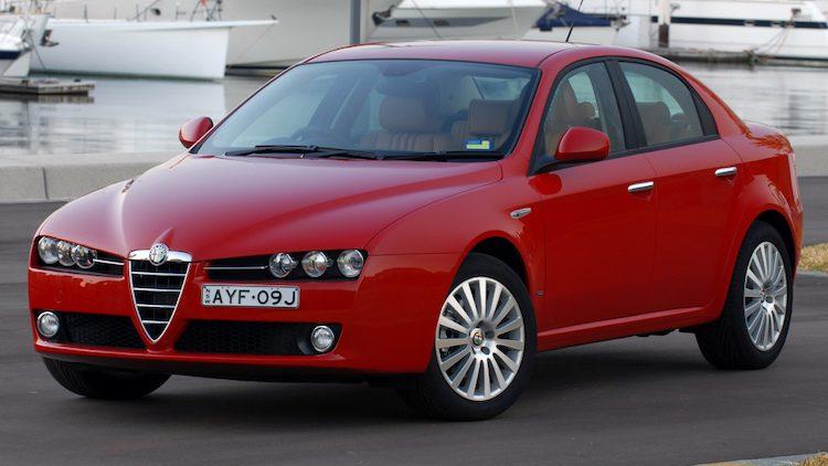 Alfa Romeo 159 2.4 JTDm (939) '05