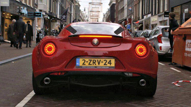 Alfa Romeo 4C Van Kouwen '19