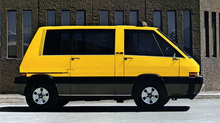 Italdesign Alfa Romeo New York Taxi Concept '76