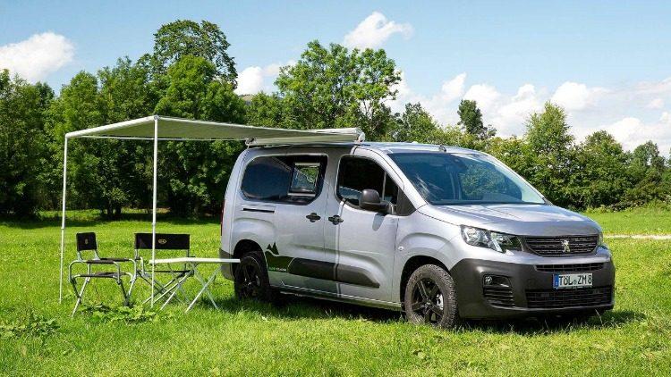 Alpin Campers Peugeot Partner Camper '19