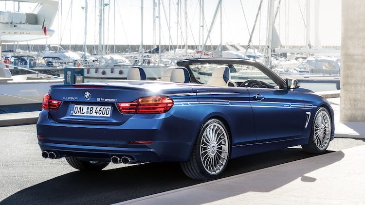 Alpina B4 Bi-Turbo Cabrio (F33) '15