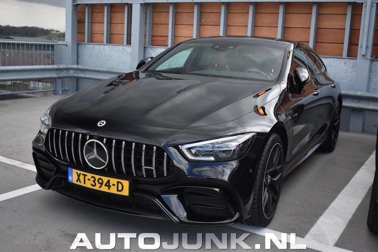 5x Mercedes-AMG GT 4 Door op Nederlands kenteken