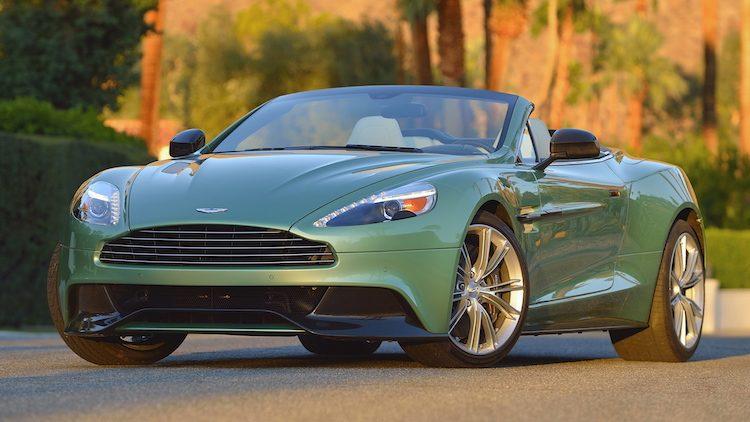 Aston Martin Vanquish Volante '14