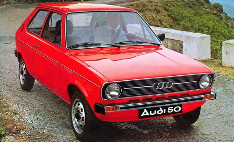 Audi 50 GL (Typ 86) '74