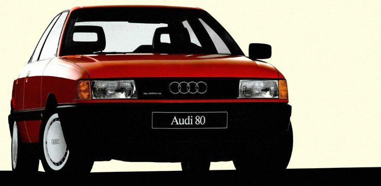 Audi 80 1.9 E quattro (B3) '87