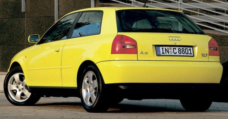 Audi A3 1.8T quattro (8L) '99