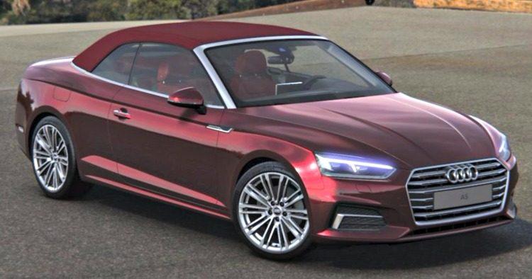 Audi A5 Cabriolet 40 TFSI design (B9) '19