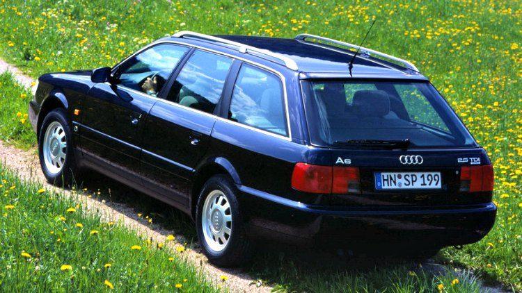 Audi A6 2.5 TDI quattro (C4) '94