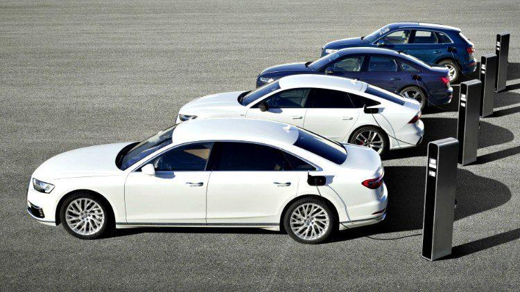 Audi e modellen