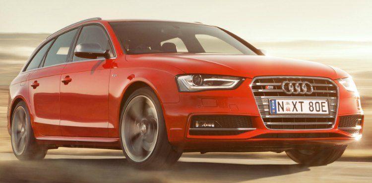 Audi S4 Avant (B8) '12