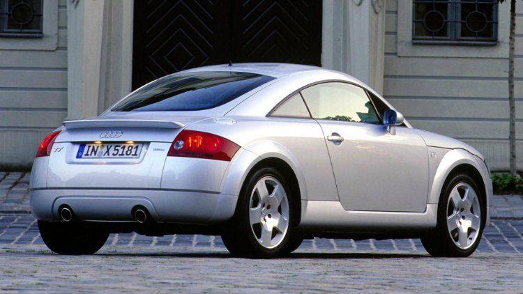 Audi TT 1.8T quattro (8N) '00