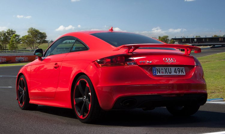 Audi TT RS Plus Coupé (8J) '13