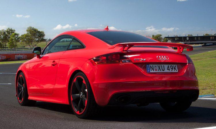 Audi TT RS Plus Coupé (8J) '13