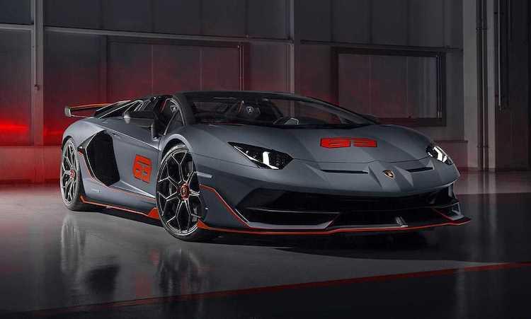 Lamborghini trekt het dak van de Aventador SVJ 63