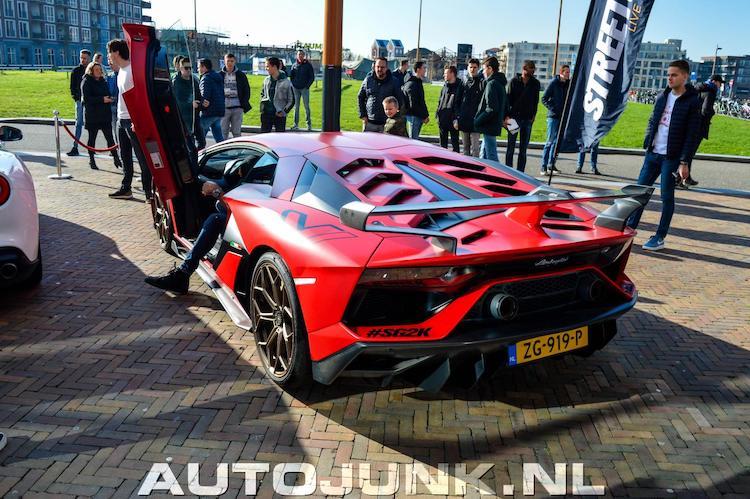 5x Lamborghini Aventador SVJ op Nederlands kenteken