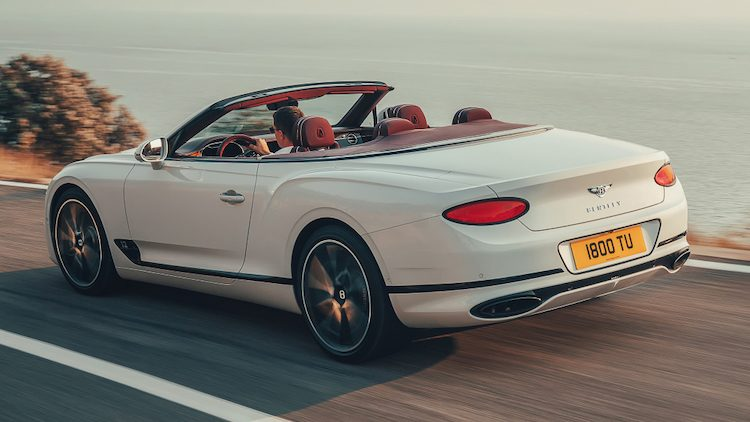 Bentley Continental GT Convertible '19