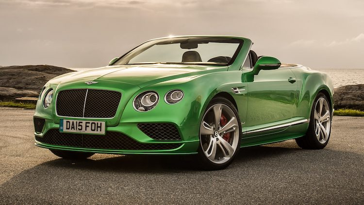Bentley Continental GT Speed Convertible '16