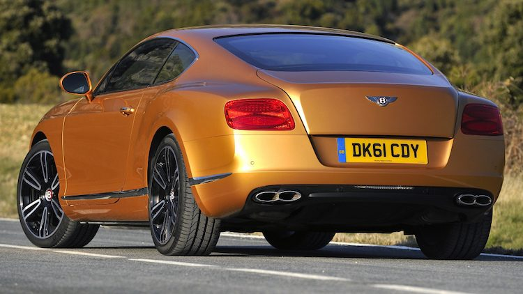 Bentley Continental GT V8 Coupé '13