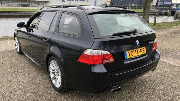 BMW 550i Touring High Executive M-Sport (E61) '19