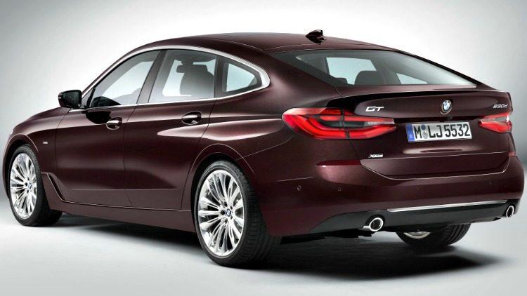 BMW 630d xDrive Gran Turismo Luxury Line (G32) '19