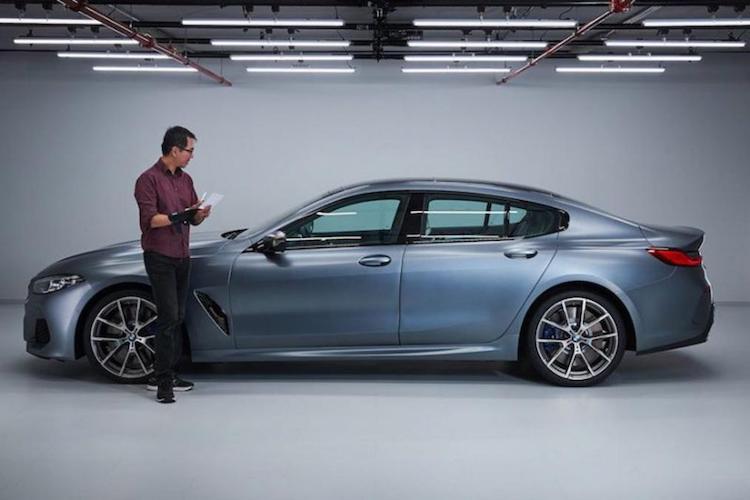 BMW 8 Serie Gran Coupé lekt uit op internet