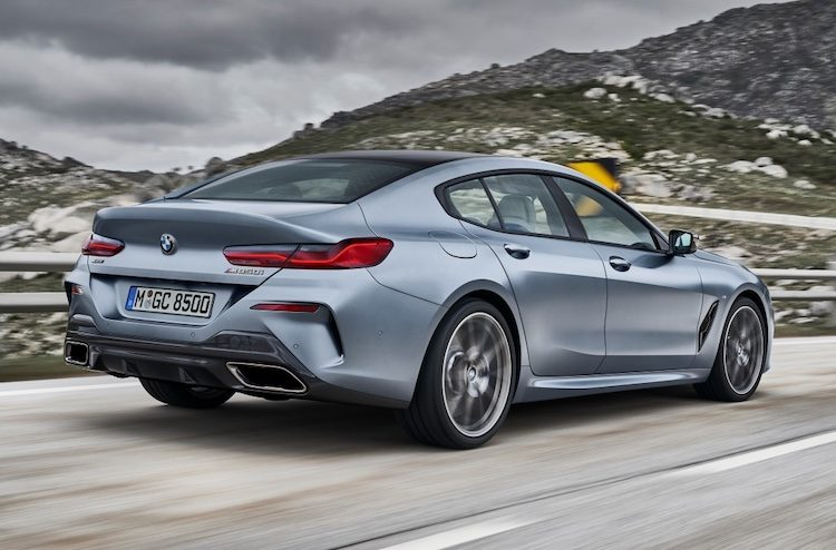 Kijk, het is de BMW 8 Serie Gran Coupé