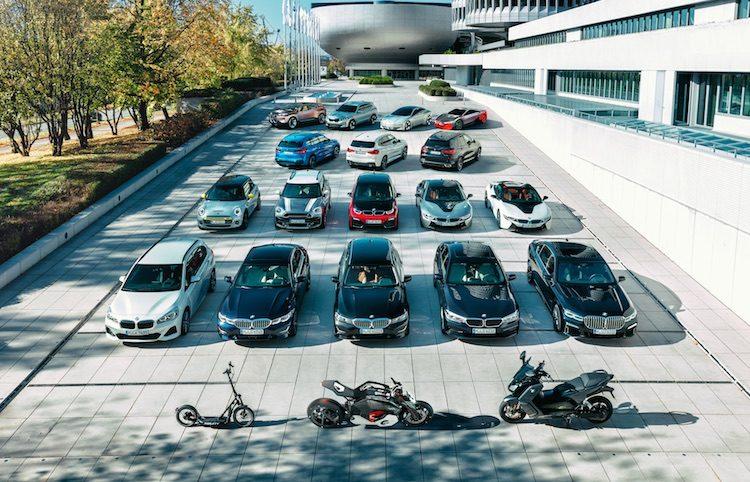 BMW elektrificatie overzicht